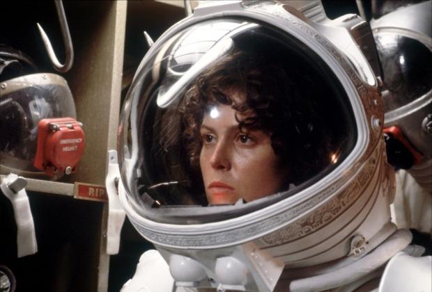Sigourney Weaver i Alien (1979)