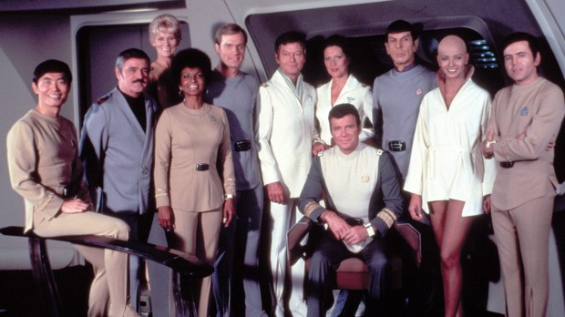 Enterprise besättning från Star Trek The Motion Picture