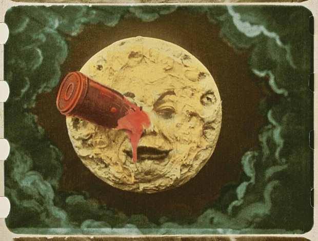 Den mest kända bilden från Resan till månen