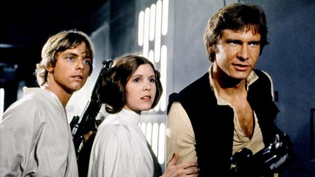 Luke, Leia och Han
