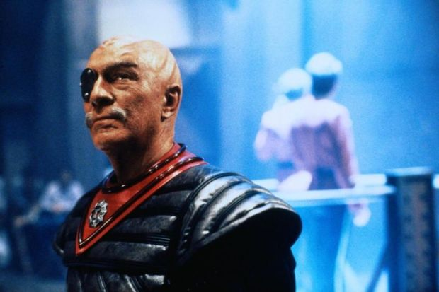 Christopher Plummer som general Chang i Star Trek VI