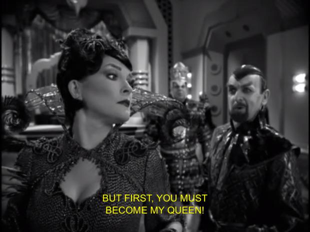 Bride of Chaotica är ett helt corny avsnitt