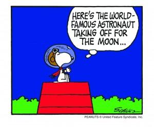 Snobben åker till månen