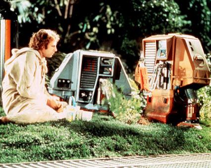 Bruce Dern och hans robotar är de enda som bryr sig om skogen