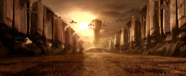 En homage till Dune - så ser jag det i alla fall