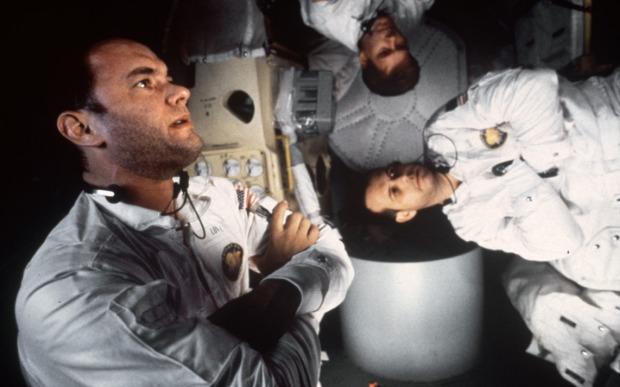 Tom Hanks, Kevin Bacon och Bill Paxton åker till månen tillsammans