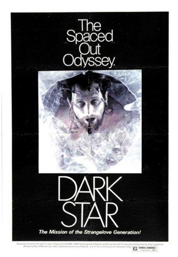 Poster för Dark Star visar den nedfryste kaptenen