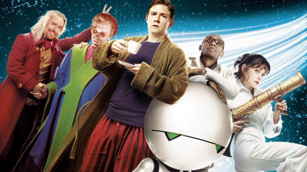Liftarens guide till galaxen (2005) - ta det lugnt