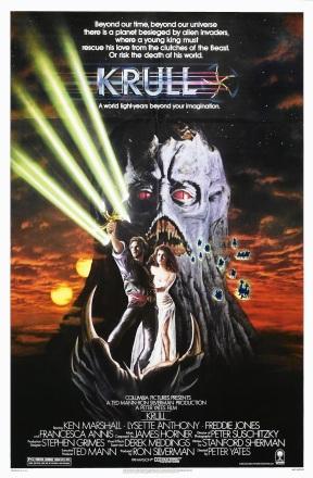 Krull (1983) Original poster