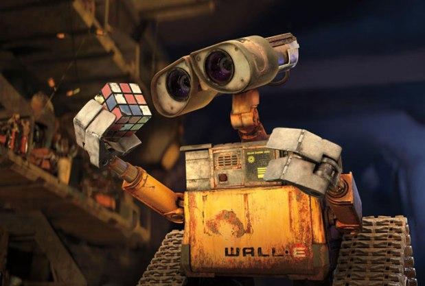 Wall-E är en geekig robot som gillar att samla på popkultur