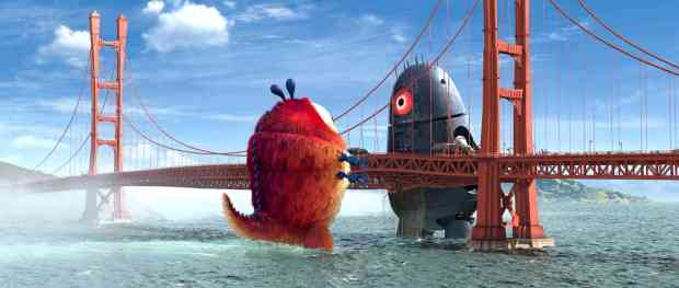 Är det Pacific Rim? Nej, Monsters vs Aliens