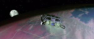 Centauris bil visar sig vara ett rymdskepp. Bilen var sedan med i Back to the future 2