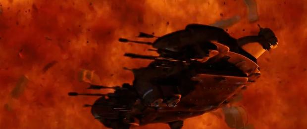 Skeppen, stridsvagnarna och vapnen är i alla fall ganska grymma