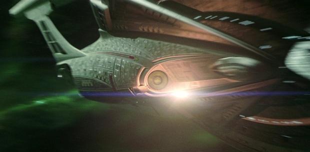 Enterprise E var åtminstone snygg på sin sista resa