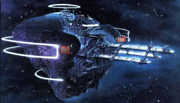 Konceptkonst för Titan AE
