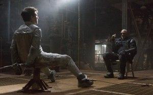 Cruise och Freeman i Oblivion