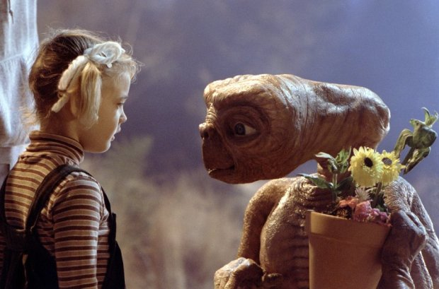 Drew Barrymore och ET