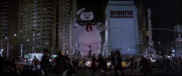 Marshmallowgubben från Ghostbusters är en klassiker