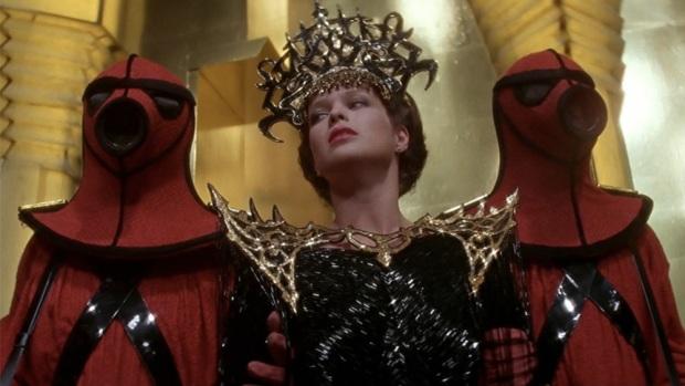 Kostymerna är makalösa i Flash Gordon