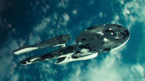 USS Enterprise i Star Trek Into Darkness