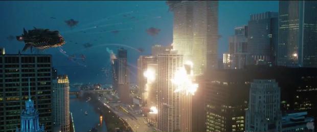 Attack mot Chicago om natten