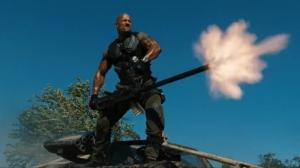 Dwayne Johnson, känd som The Rock, har huvudrollen i G.I Joe 2