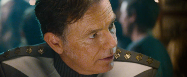 """""""Men jag tror på dig, Jim"""" säger amiral Pike"""