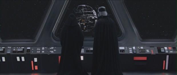 Kejsaren och Darth Vader