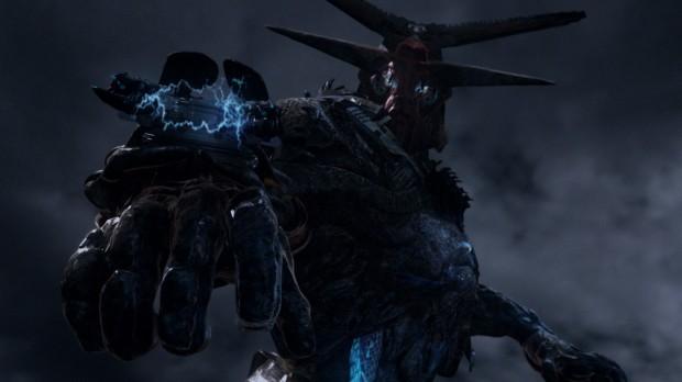 The Volge är en av åtta alienraser, och seriens mörka hot. Ja, de är jätterobotar. (Defiance)