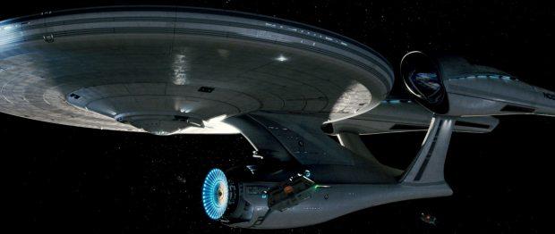 USS Enterprise NCC 1701 i Abrams' version är byggd som en hotrod och mycket större än föregångarna