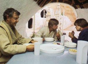 Middag hemma hos Skywalkers