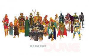 Konceptdesign av Moebius för Dune