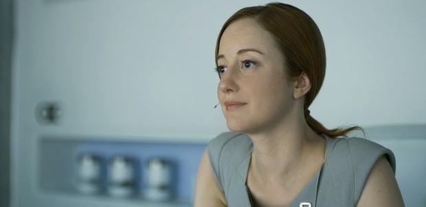 Andrea Riseborough spelar den svala Vic