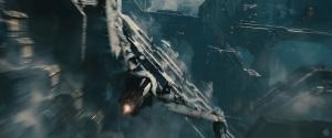 En lite skakig bild av en klingonsk Bird of Prey