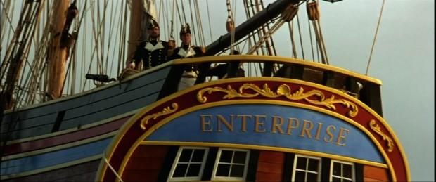 Enterprise i sitt segelskeppsversion