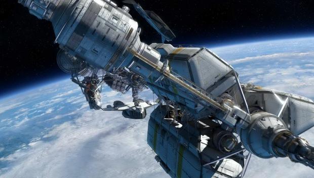 ISV Venture Star är det stora skepp som kolonialisterna anländer till Pandora i