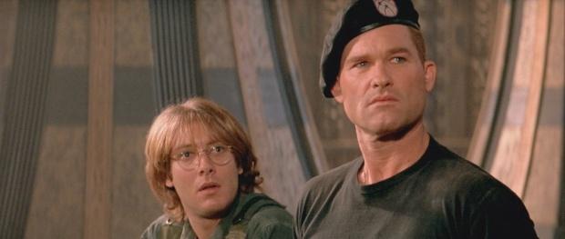 James Spader och Kurt Russell i Stargate 1994