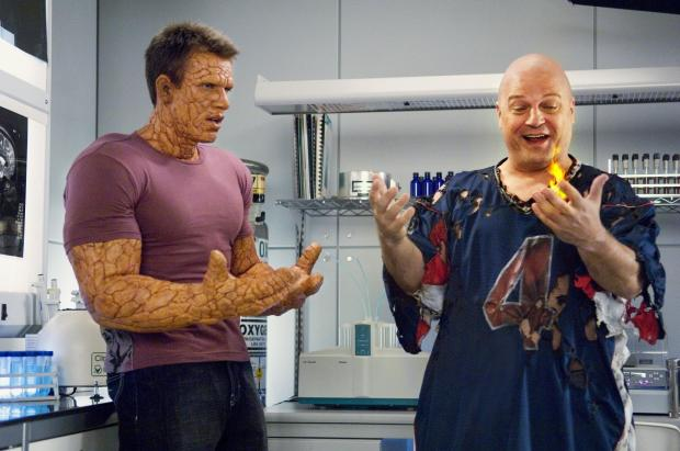 Chris Evans och Michael Chiklis
