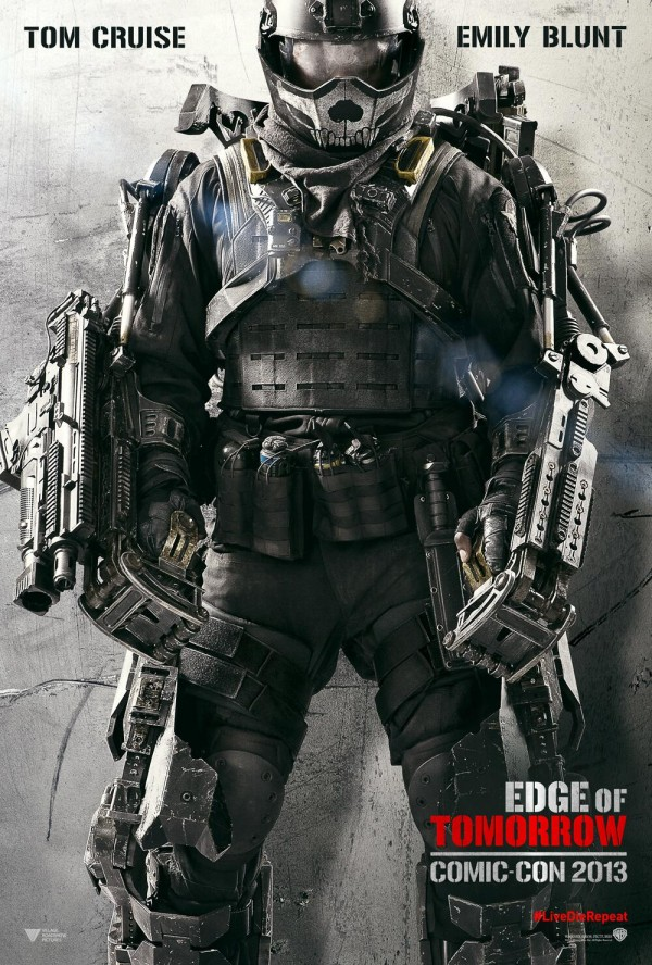 Edge of Tomorrow, comic con poster