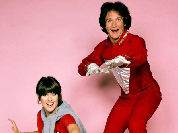 Pam Dawber och Robin Williams