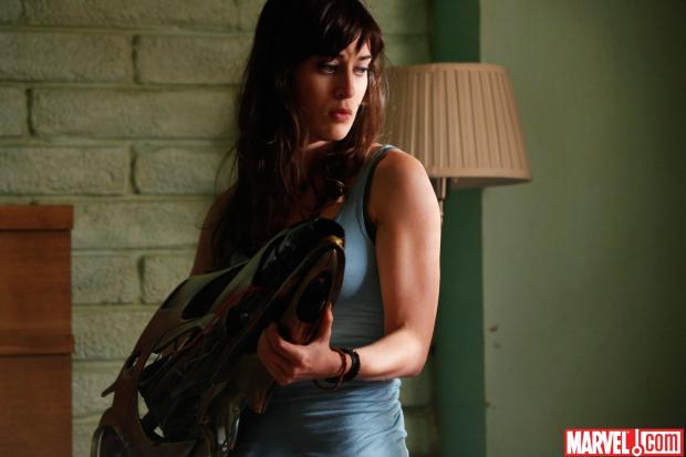 Lizzy Caplan i Item 47 från Marvel