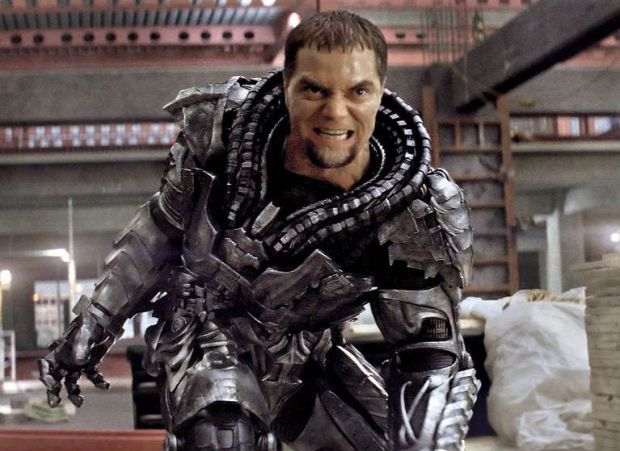 MICHAEL SHANNON är General Zod