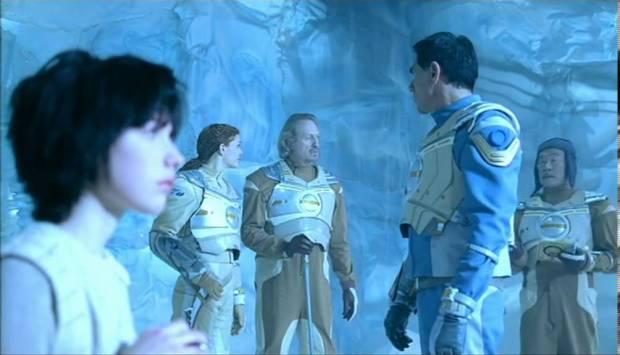 Nere på isplaneten är det mest blått
