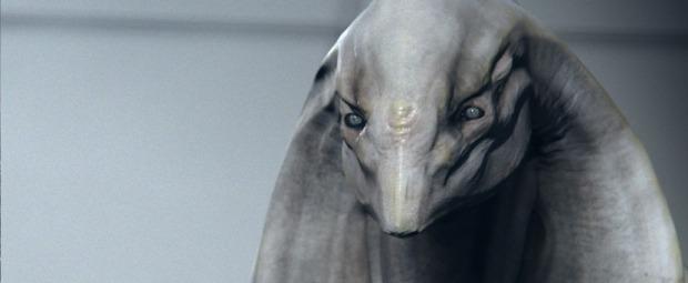 Aekon heter huvudpersonen, som är en utomjording