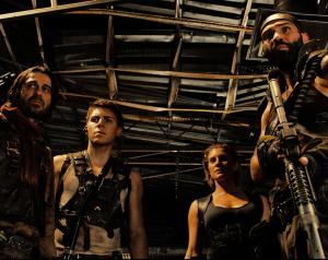 Riddicks motvilliga kompanjoner, bl a Katee Sackhoff