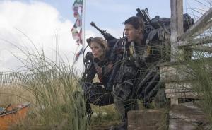 Emily Blunt och Tom Cruise i Edge of Tomorrow