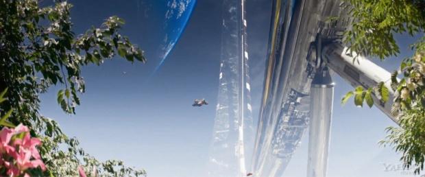 Elysium inifrån, i Neil Blomkamps film