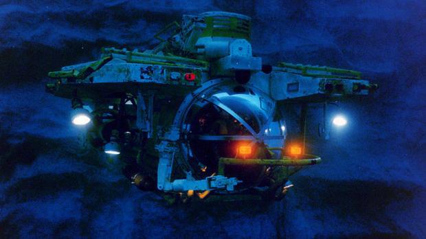 En av miniubåtarna i The Abyss