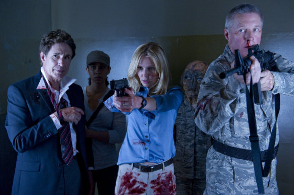 AREA 51 -- Syfy Original Movie -- Pictured: (l-r) John Shea, Bruce Boxleitner -- Photo by: Syfy