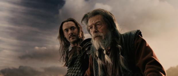 Jack Huston och John Hurt som nuvarande och kommande vikingakung